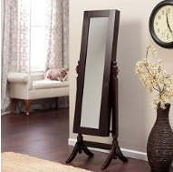 Best Jewelry Armoire Mirror