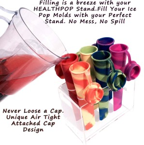 Silicone Popsicle Molds - Start eating healthy now
