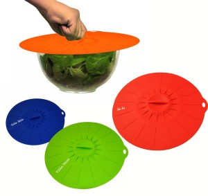 Silicone Suction Lids - Simple,work great and environmentally friendly