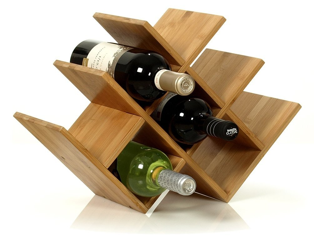 W Shape 8 Bottle Tabletop