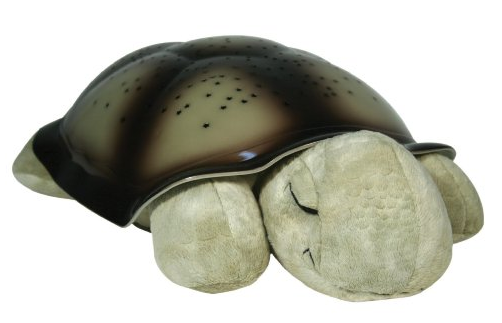 Cloud b Twilight Constellation Night Light Turtle, Classic Mocha