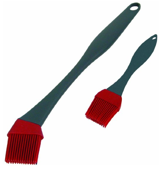 GrillPro 41090 2-Piece Silicone Basting Brush