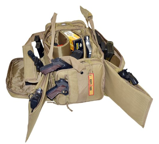 Large Padded Deluxe Tactical Range Bag