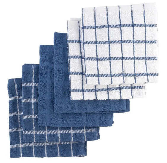 Ritz 6-Pack Terry Cotton Dish Cloths