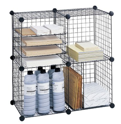 Safco Products Wire Cube Storage Set