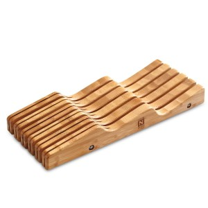 Cook N Home Bamboo Knife Storage