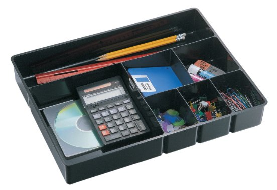 Officemate Deep Drawer Tray, Black