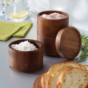 Wood Salt Box - Beautiful and functional addition to any kitchen