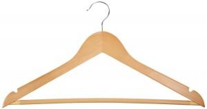 5 Best Wood Suit Hangers – Organize your closet in an easy way
