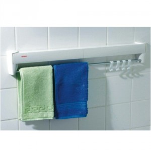 Wall Mount Clothes Drying Rack - Great space saver for any household