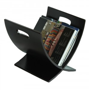 Wood Magazine Rack - Keep your magazines organized and within reach