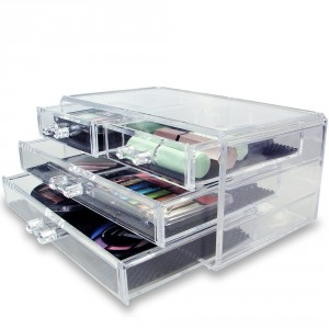 Clear Cosmetic Organizer - Functional and beautiful solution for your storage needs