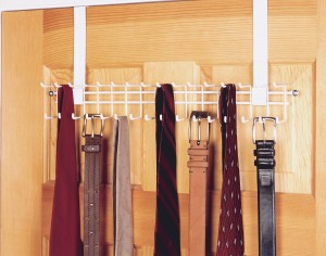 Over The Door Rack - Quickly grab your favorite tie and go