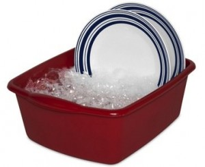 Dish Pan For Sink - Washing and soaking is a breeze now