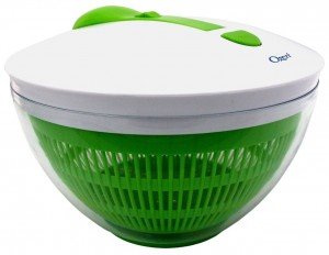 Salad Spinner - Make making salad more fun