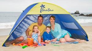 Beach Tent Sun Shelter - Enjoy cool comfort and outdoor fun