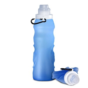 Beckly Collapsible Roll Up Sports Water Bottle
