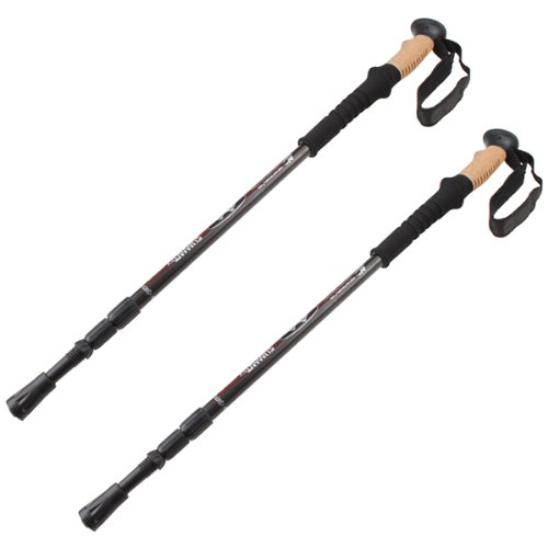 IMAGE® Pair 2pcs Trekking Hiking Sticks
