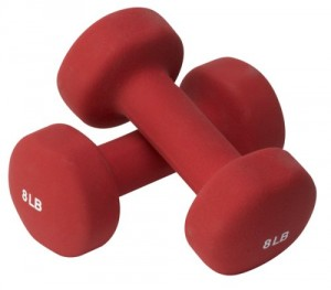 Neoprene Dumbbells - Great addition to home workout equipment.