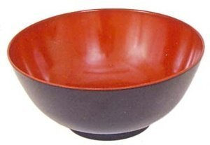 Black Red Melamine Udon