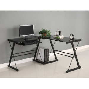 Corner Computer Desk - Give your office a modern and unique look