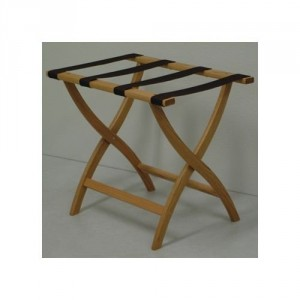 Folding Luggage Rack - Treat house guests to the convenience