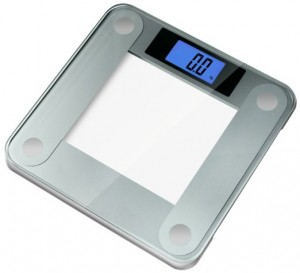Glass Digital Bathroom Scale - Get your weight measurement easily and quickly