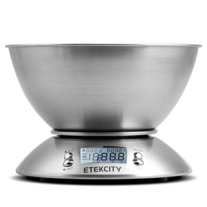 Kitchen Scale with Bowl - Your personal sous-chef
