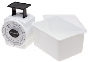Mechanical Kitchen Scale - Make sure you are getting a specific amount for cooking