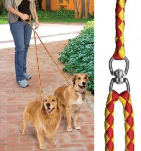 Pet Parade No-Tangle Dual Dog Leash