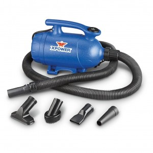 XPOWER 2-in-1 Pet Dryer and Vacuum