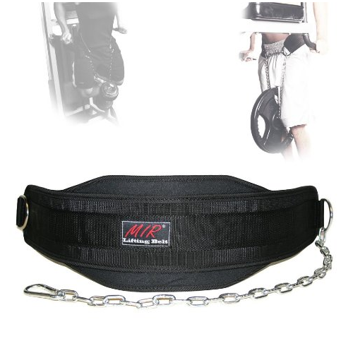 MIR Weight Lifting Dip Belt with chain