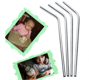 Stainless Steel Straws - Better for you and better for environment