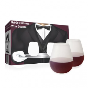 Unbreakable Wine Glasses Set