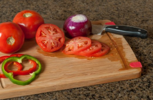 Bamboo Cutting Board with Juice Groove - Perfect cooking and chopping companion