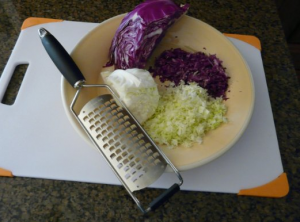 Extra Coarse Grater - For fast, easy grating