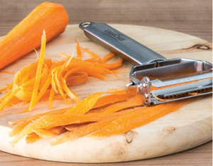 Julienne and Vegetable Peeler - Make various yummy vegetable dishes in a matter of minutes