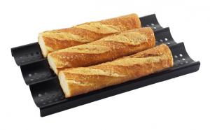 Perforated Baguette Pan - Bake your bread to perfection every time