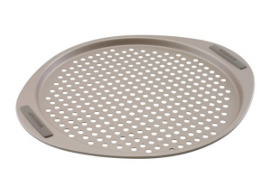 Perforated Pizza Pan - For anyone who love homemade pizza