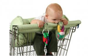 Shopping Cart Cover - Great on-the-go protection