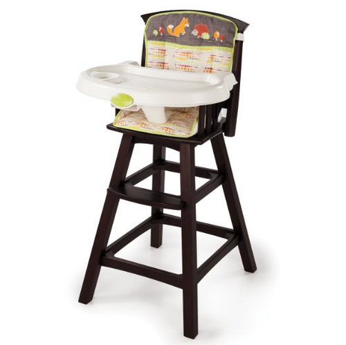 Summer Infant Classic Comfort Wood High Chair