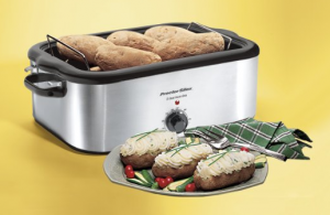 Turkey Roaster Oven - Serve mouth-watering turkey at Thanksgiving