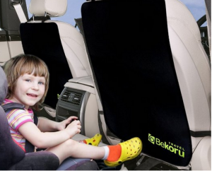 Car Seat Kick Mat - No more dirt, mud, snow, and rain to ruin your car seat