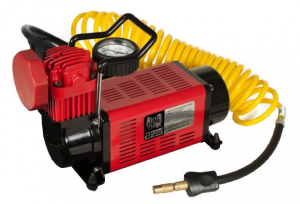 Portable Air Compressor - Keep your tires at optimal pressure