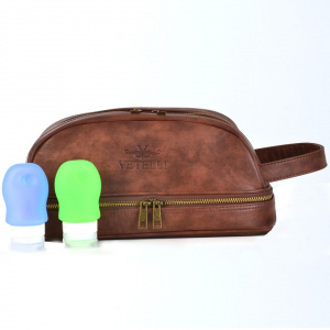 5 Best Leather Toiletry Bag – A must have for any man that travels