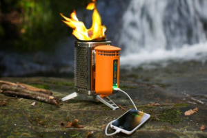 Wood Burning Camp Stove - Say goodbye to heavy, costly, polluting petrol fuels