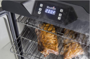 Electric Digital Smoker - Perfect smoked food, every time