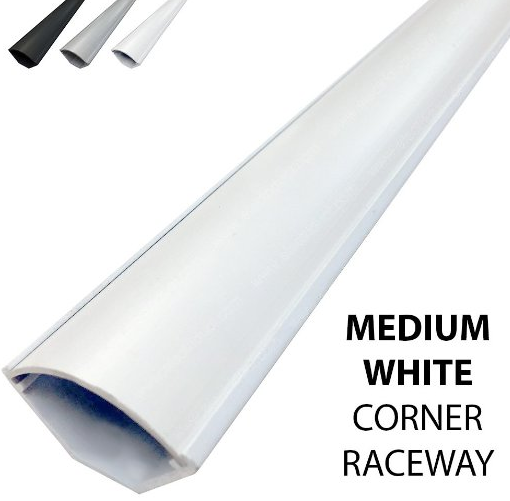 Medium Corner Duct Cable Raceway