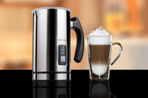 Automatic Milk Frother And Warmer - Get the gourmet coffee experience in your own home