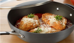 Covered Chicken Fryer - Cook wonderful tasting, perfectly crispy chicken every time